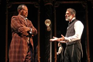 "Shakespeare-inspired ""District Merchants"" at Costa's Mesa's South Coast Rep"